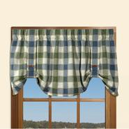 Country Living Buffalo Plaid 50 in. x 21 in. Valance at Kmart.com
