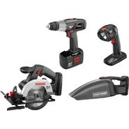 Craftsman 17410 19.2-volt C3 Cordless 4 pc. Combo Kit at Kmart.com
