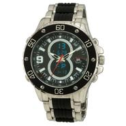 US Polo Assn. Mens Calendar Date Watch w/Multi-function Dial and Black and ST Band at Sears.com