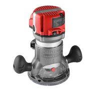 Craftsman Professional 28190 12.5 amp 2-1/4 hp Corded Fixed Base Soft Start Router with LED Worklights at Kmart.com