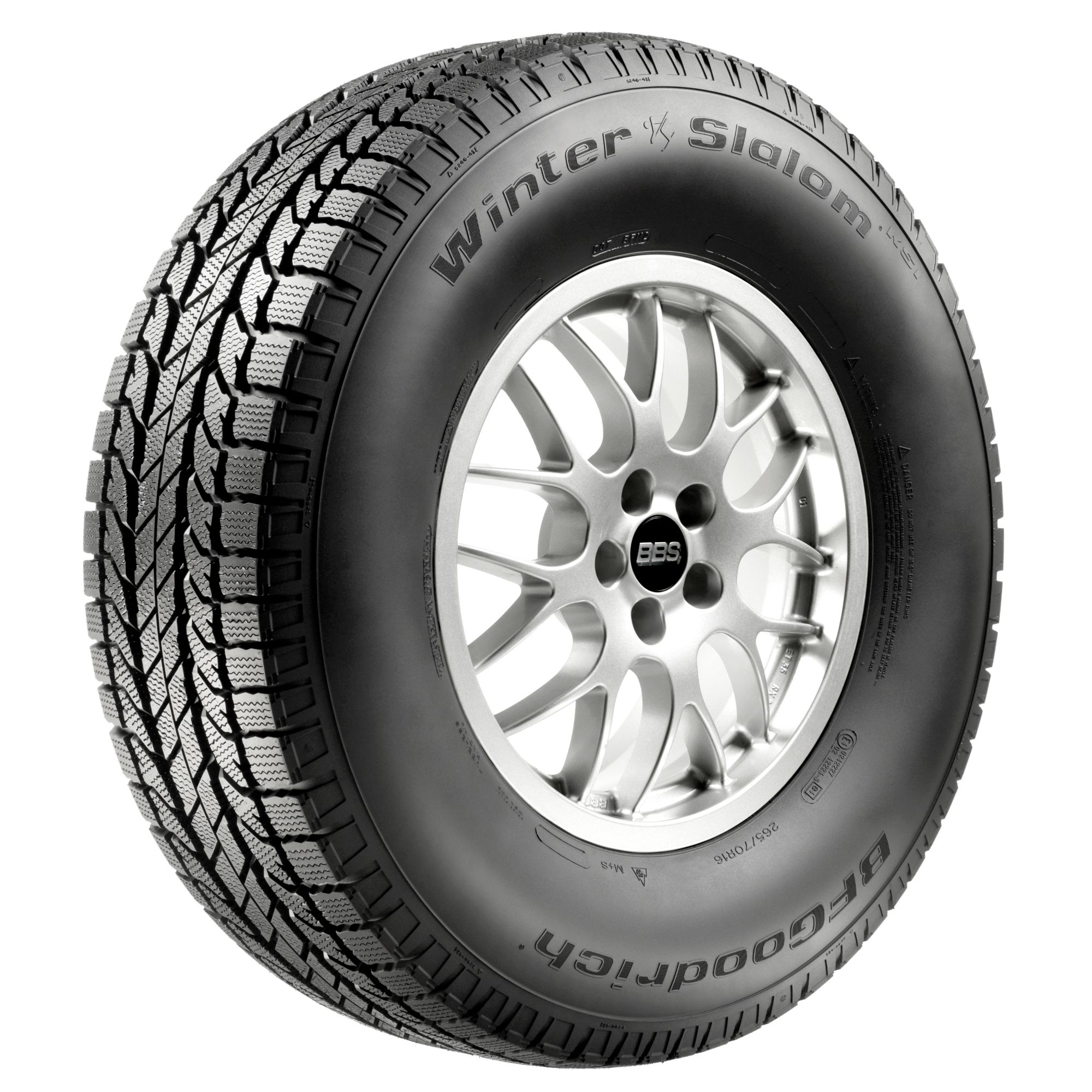 BFGoodrich Winter Slalom KSI - 265/70R17 115S BW - Winter Tire 265-70-17