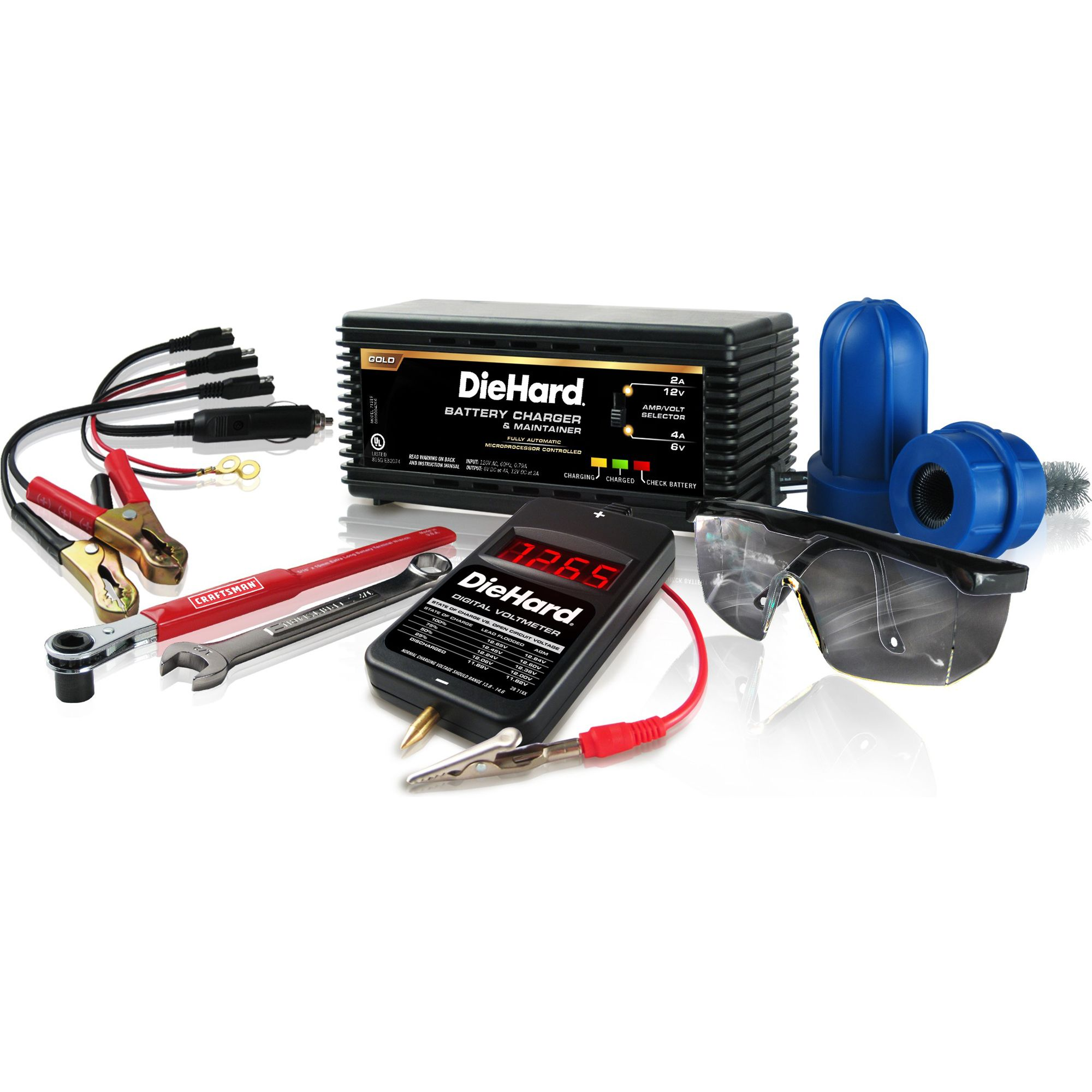 DieHard  Battery Maintenance Kit
