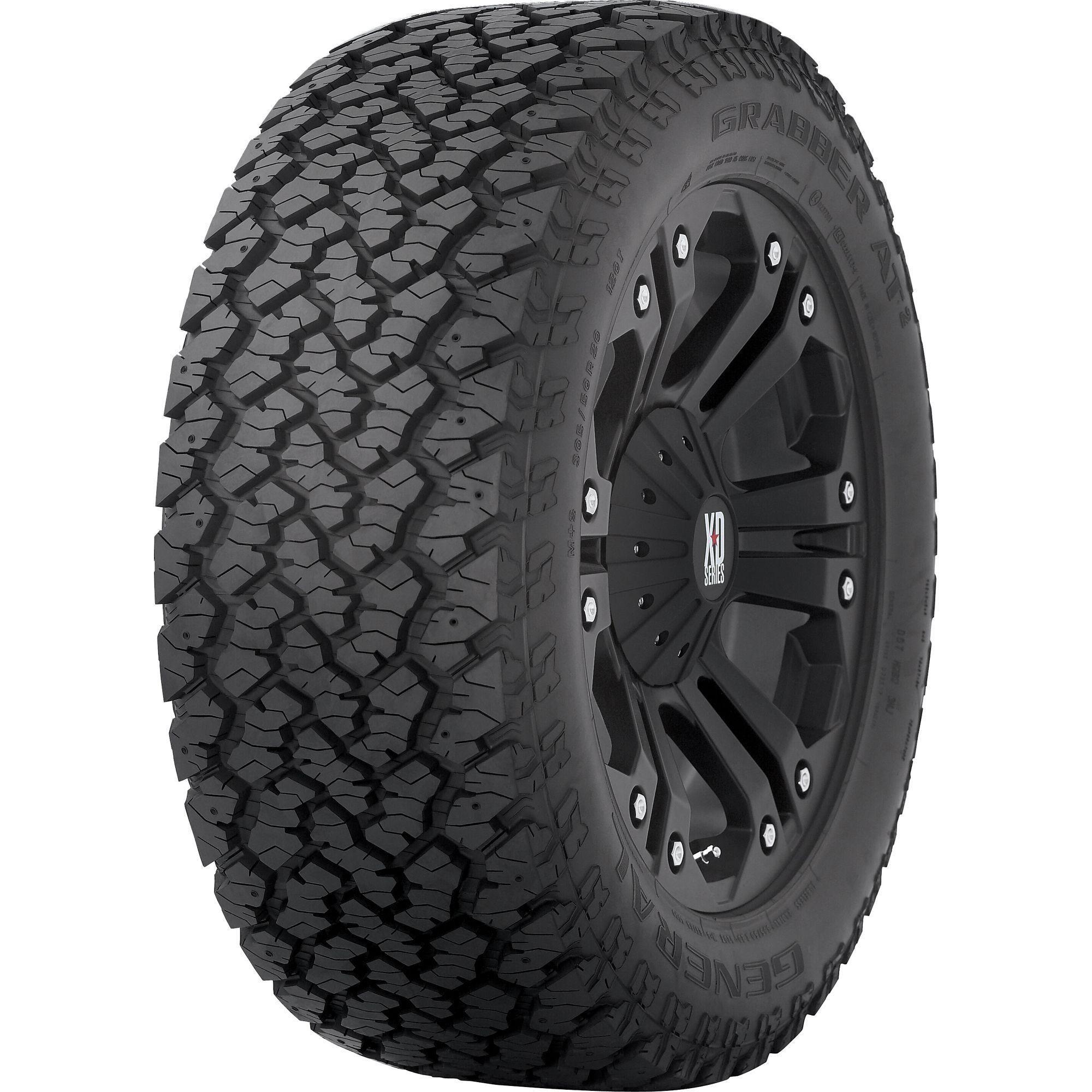 General GrabberAT2 - 265/70R17 115S OWL - All Season Tire 265-70-17