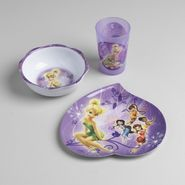 Disney Fairies Mealtime 3-Piece Set at Kmart.com