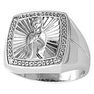 Diamond Accent Guadalupe Ring in Sterling Silver at Kmart.com