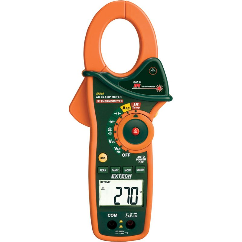 1000A Ac Clamp Meter W/ Ir Thermometer