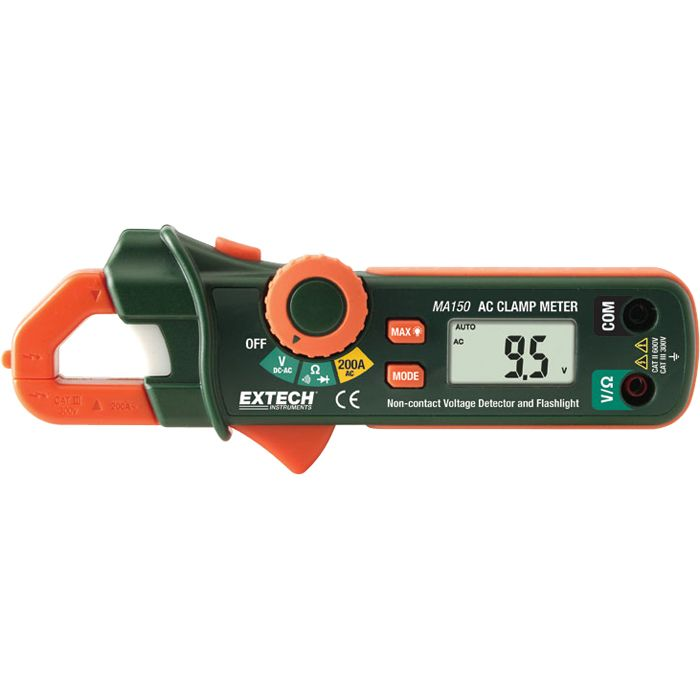 200A Ac Mini Clamp Meter W/ Ncv