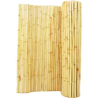 Backyard X-Scapes Rolled Bamboo Fencing - 1 in. D x 4 ft. H x 8 ft. L