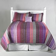 Essential Home Amethyst Ombre 5 Piece Quilt Set at Kmart.com
