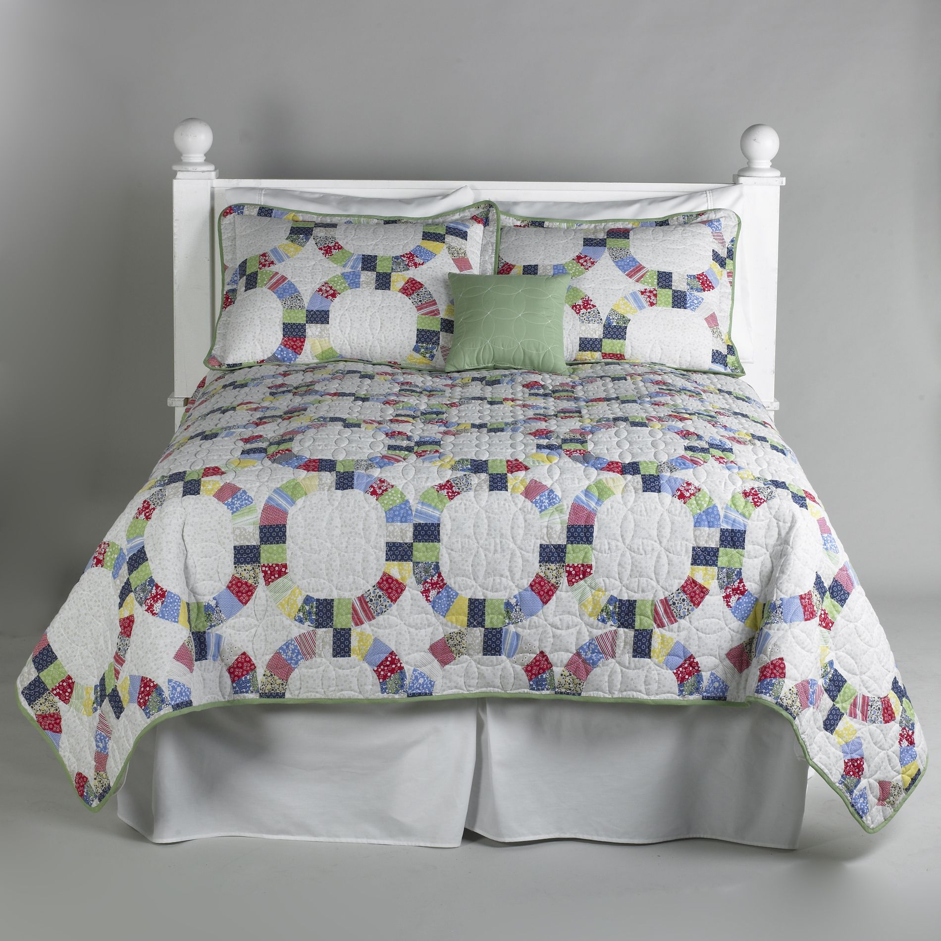 Heirloom Quilt 5 Piece Bedding Set