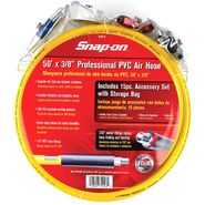 Snap-on® 3/8 in. x 50 ft. PVC Air Hose w/15 Piece Accessory Set at Sears.com