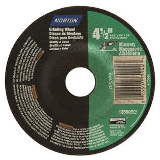 Norton 4-1/2 in. Masonry Grinding Wheel