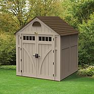 Suncast Storage Shed (7 ft. x 7 ft.) at Sears.com