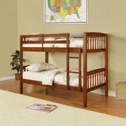 Essential Home Belmont Bunk Bed - Walnut at Kmart.com