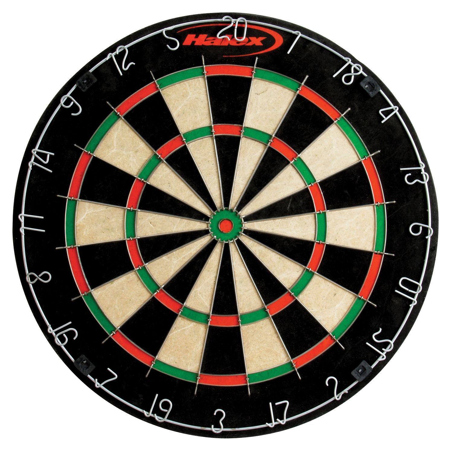 Official Size Tournament Bristle Dartboard