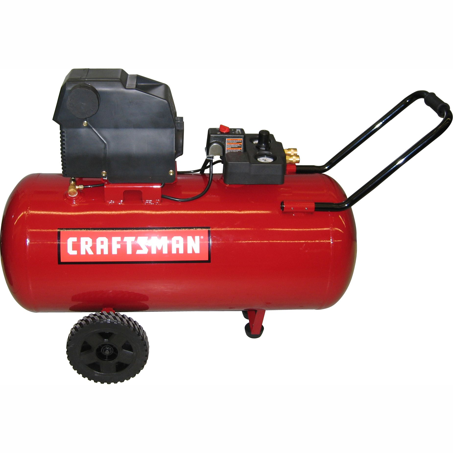 33 Gallon Horizontal Portable Air Compressor