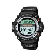 Casio Mens Calendar Day/Date Twin Sensor Watch w/Digital Dial and Black Resin Band at Sears.com