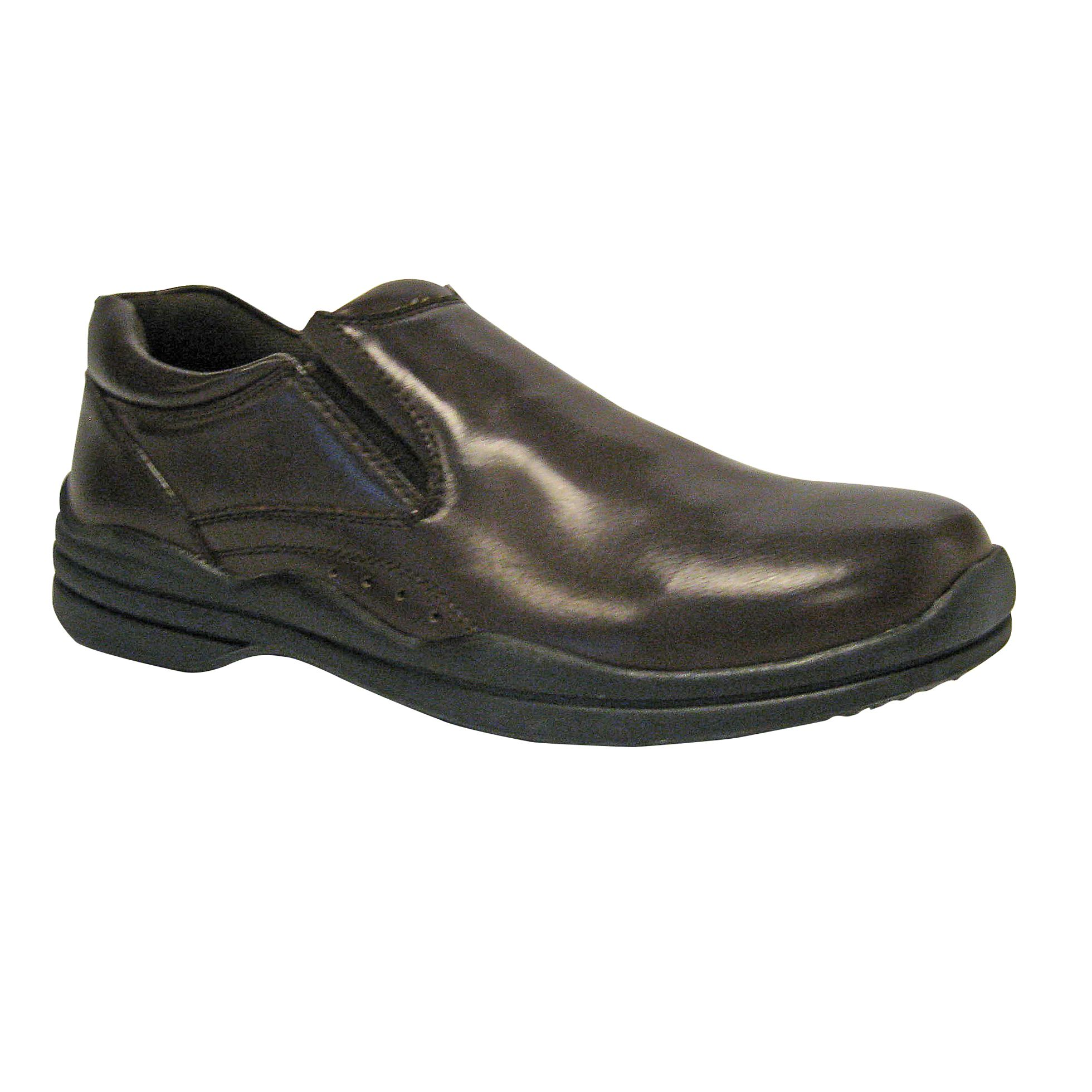 Men's Goal Slip-On Casual Shoe - Black