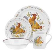Corelle 16 Pc Country Morning Set - White at Kmart.com