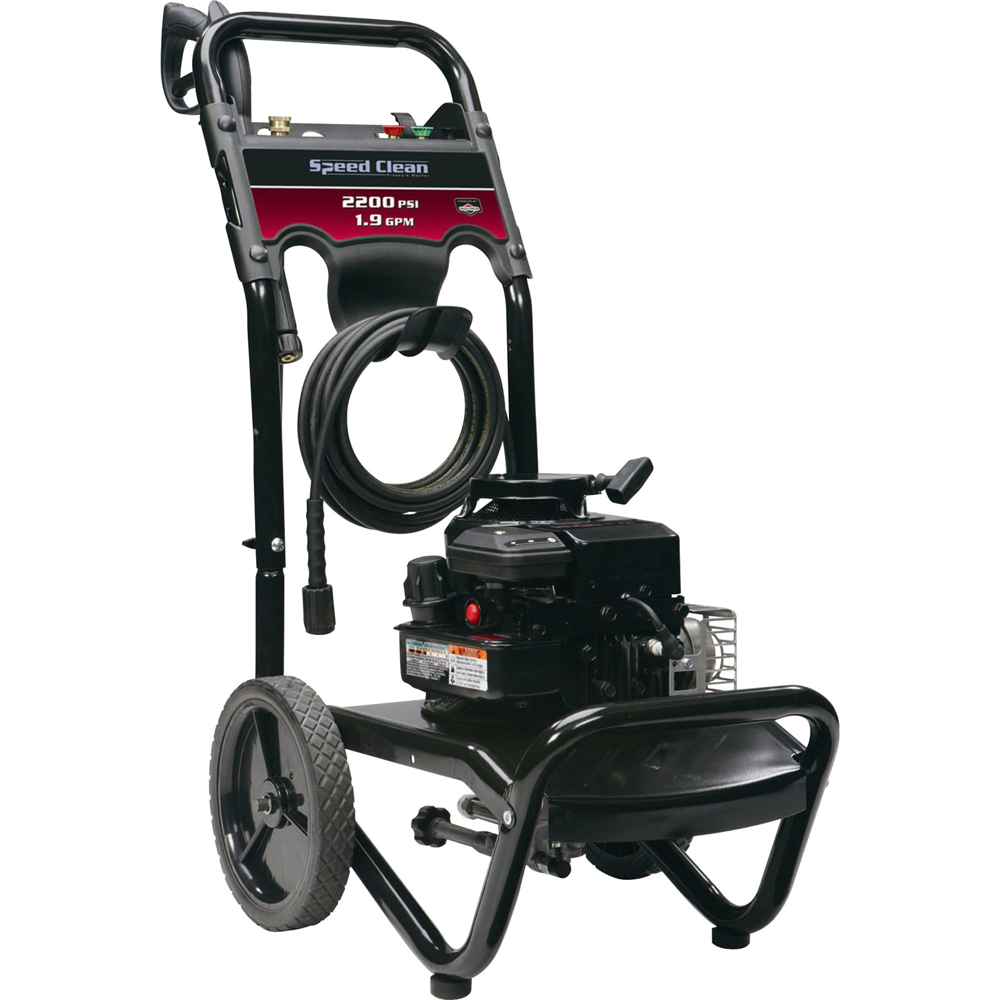 Speed Clean 20460 2200 Psi 1 9 Gpm Pressure Washer Ca