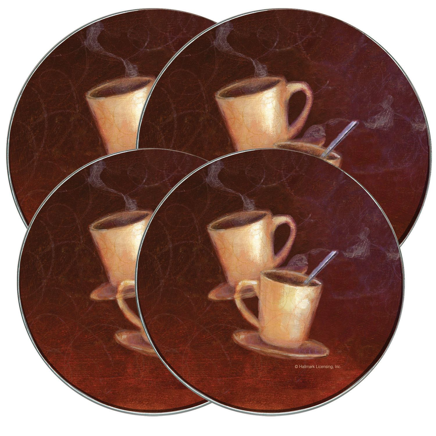 Range Kleen Coffee Burner Cover Set Of 4
