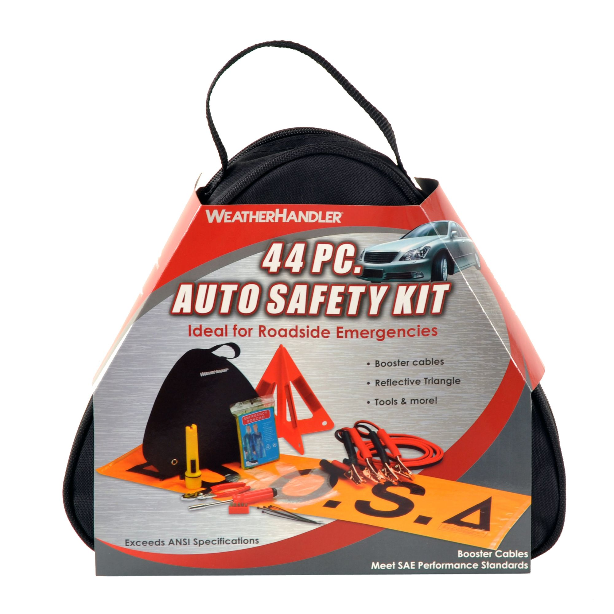 44pc Auto Safety Kit