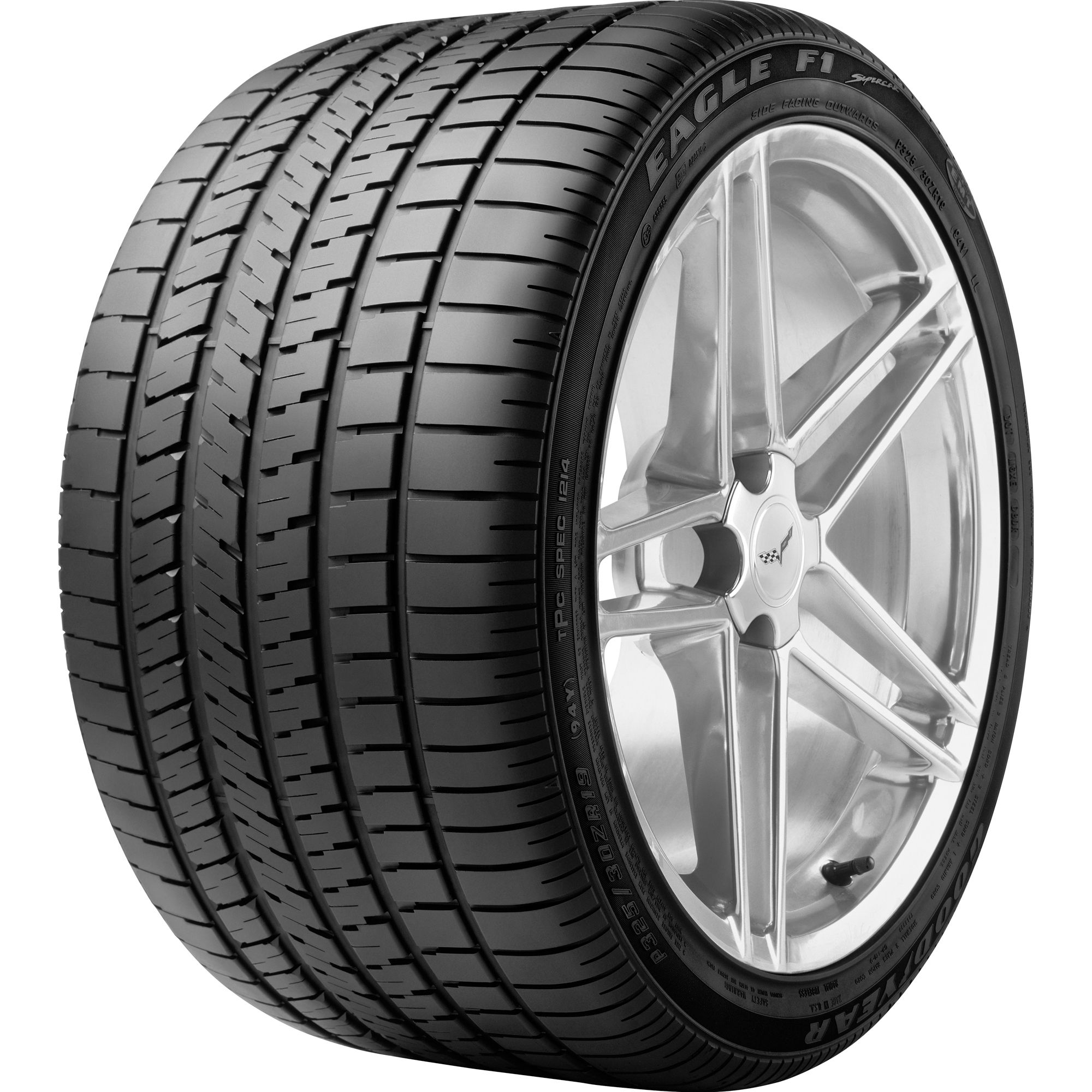 EAGLE F1 SUPERCAR Tire- P285/35R20 92Y BW
