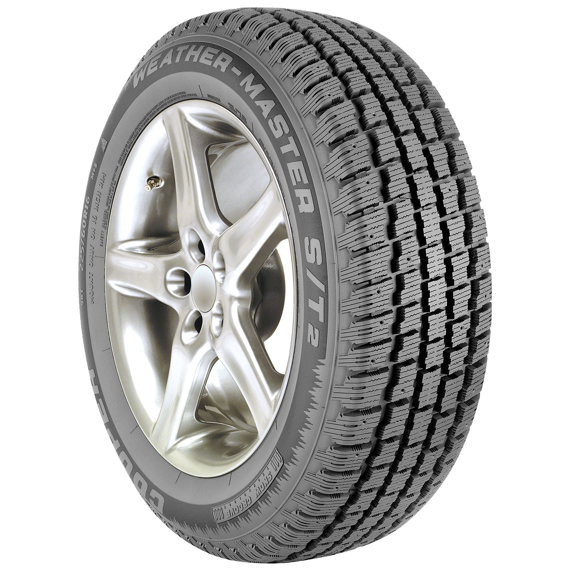 Cooper Weathermaster S/T2 Tire- 195/75R14 92S BW - Winter Tire