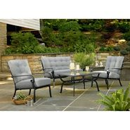 Garden Oasis Colebrook 4 Pc. Seating Set at Kmart.com
