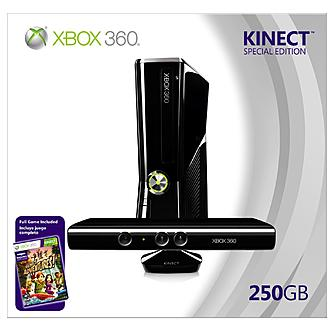 Microsoft xbox 360 kinect join the action at kmart - Xbox 360 console with kinect ...