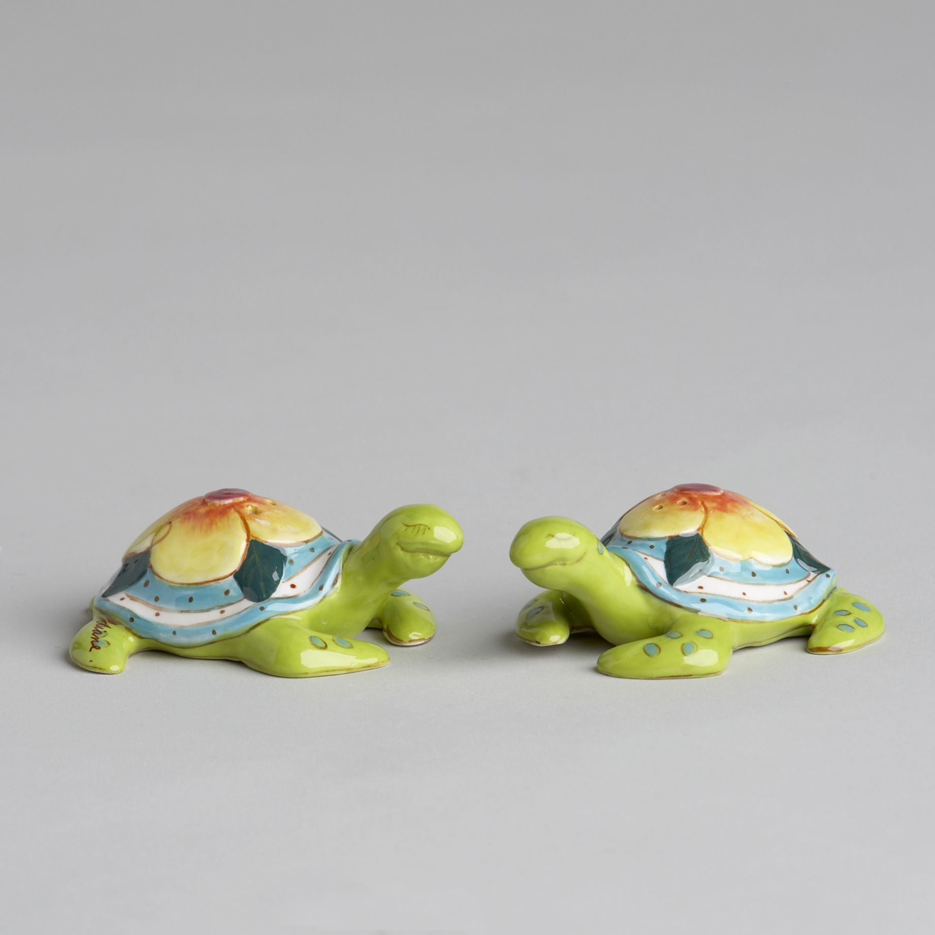 Bomba Turtle Salt & Pepper Shaker Set                                                                                            at mygofer.com