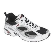 Avia Men's 5018 Athletic Running Shoe - White/Black at Sears.com
