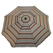 Resin 6-1/2 Ft. Patio Umbrella - Brown and Green at Kmart.com