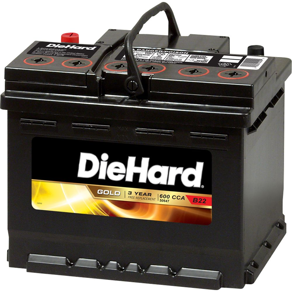 DieHard  Gold Automotive Battery - Group Size 47 (Price with Exchange)