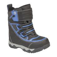 Athletech Boy's Arctic Snowboard Boot - Navy at Kmart.com