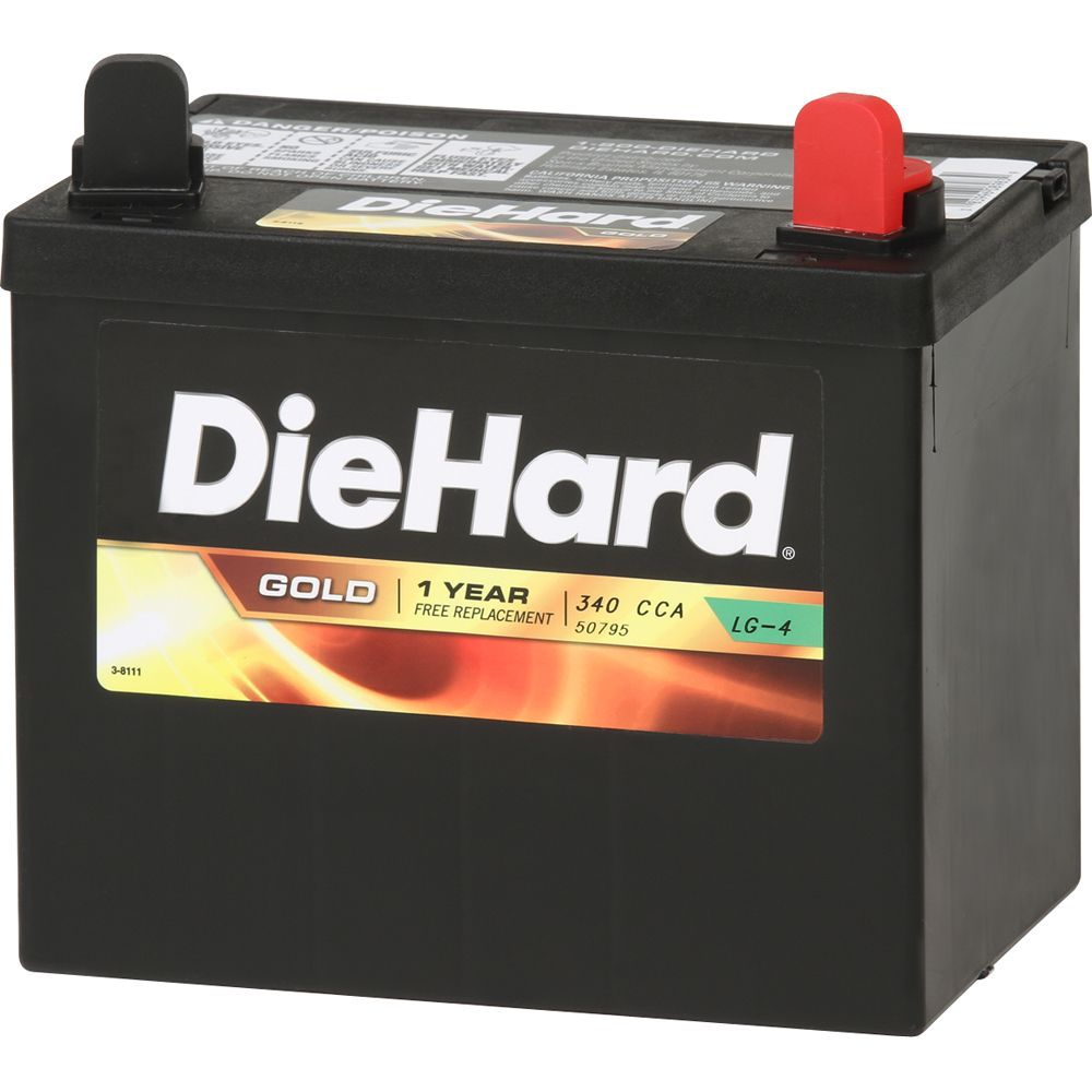 Gold Lawn & Garden Battery- Group Size U1R (Price with Exchange)