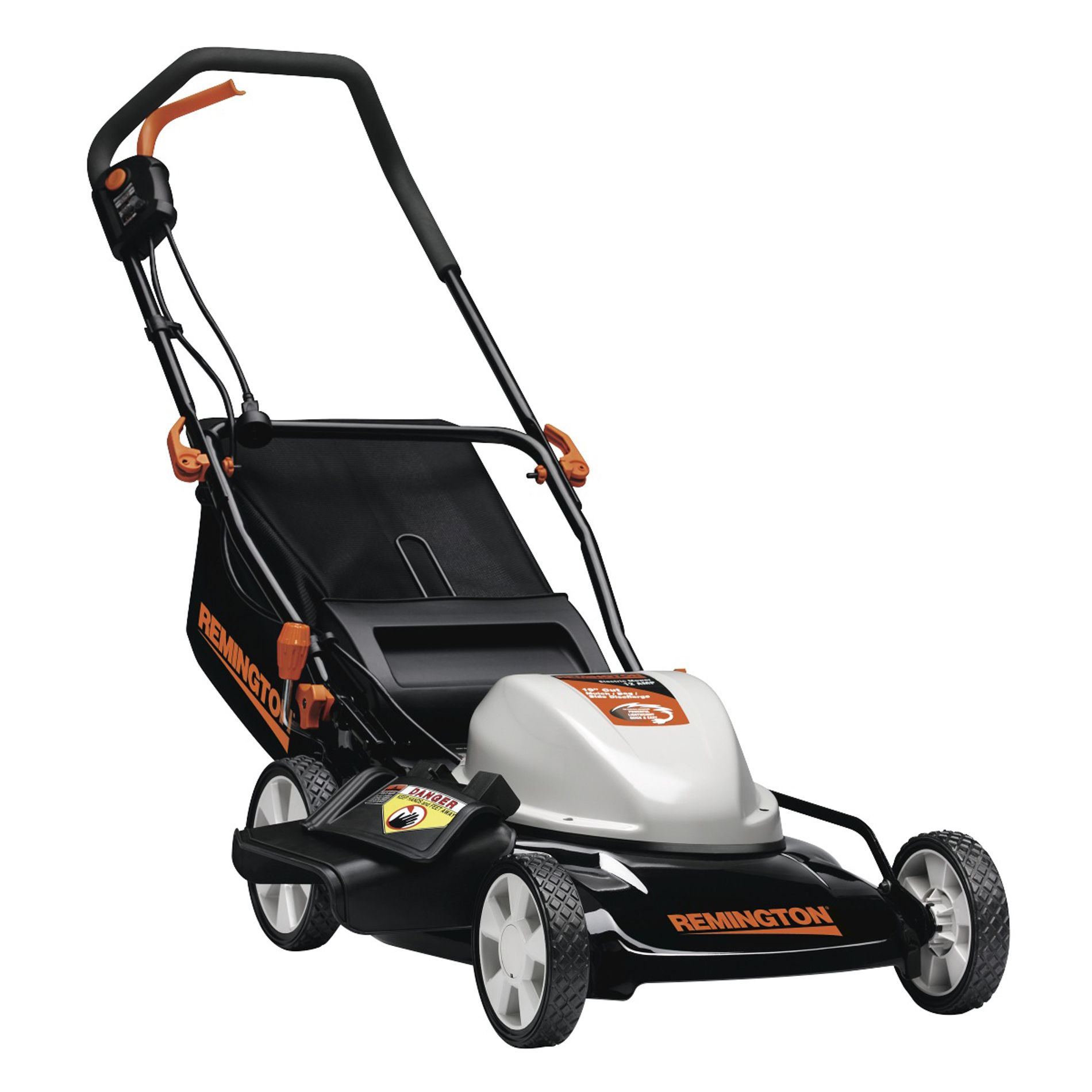 "Remington 12 amp 19"" 3-n-1 Electric Mower - 50 state"