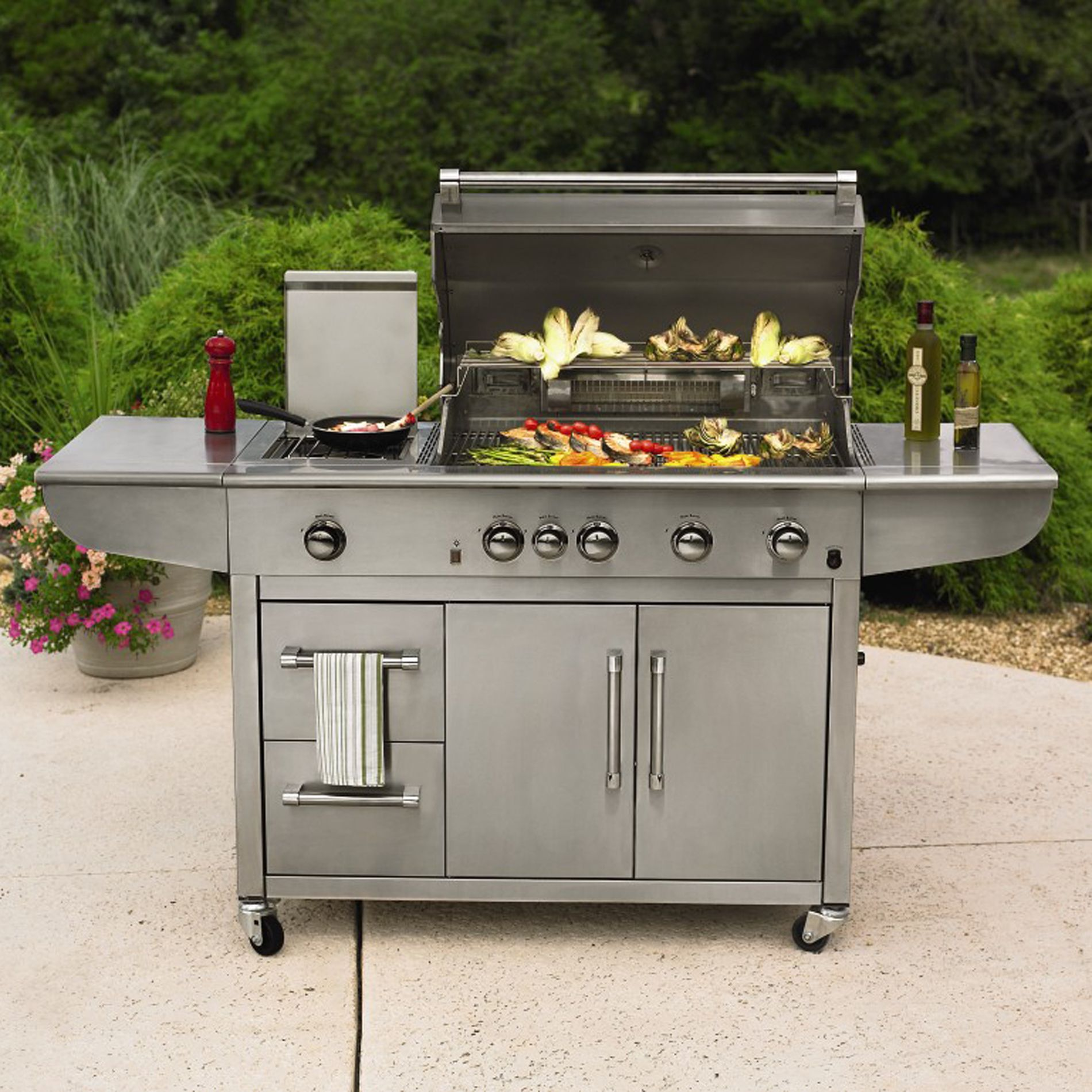 4-Burner-Industrial-Grill