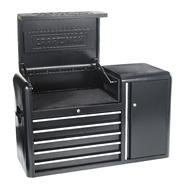 Craftsman 5-Drawer, 43- Inch Contour Power Top Chest at Kmart.com