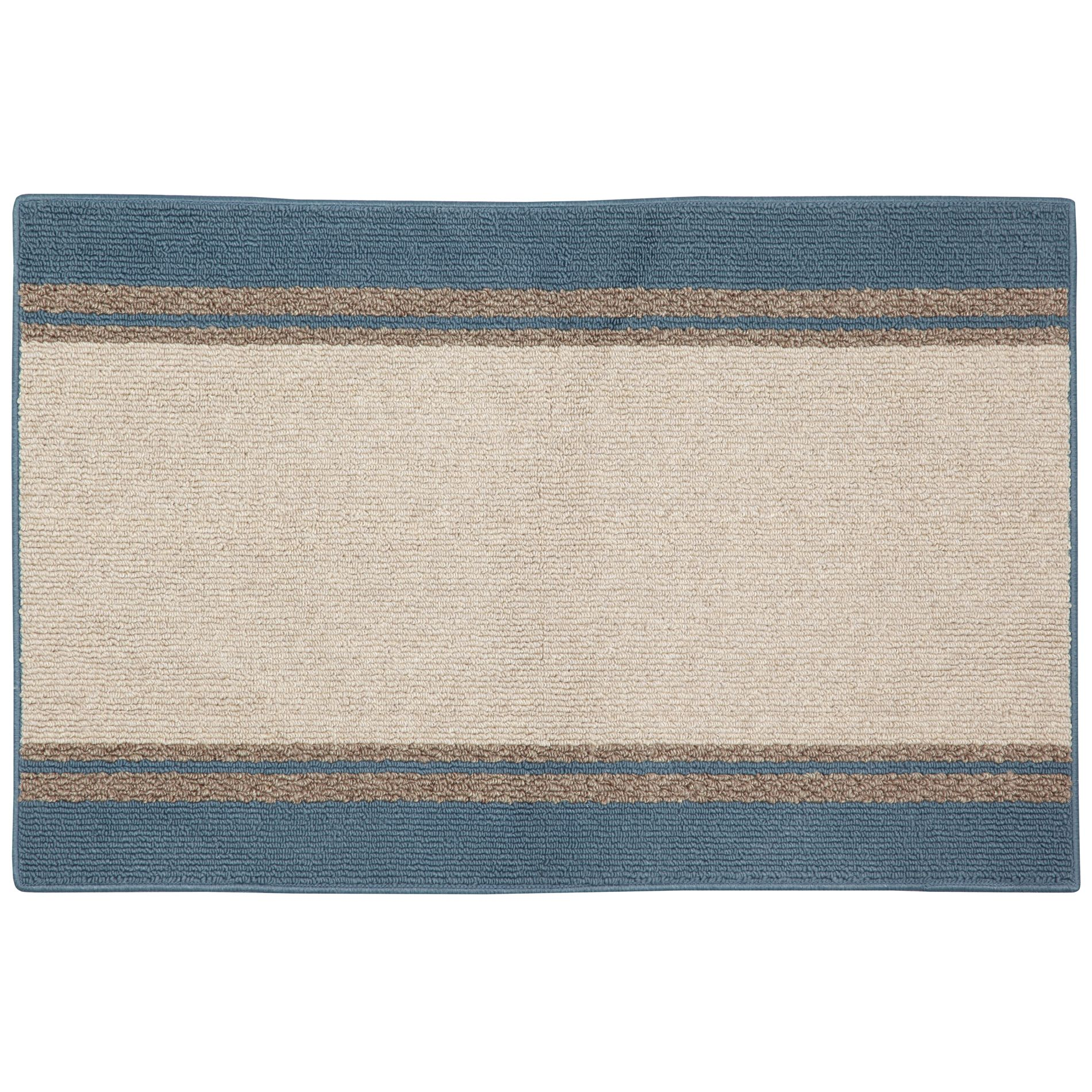 Nueva Stripe 24in x 42in Area Rug - Stellar Blue                                                                                 at mygofer.com