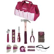 iWork 50-Piece Pink Home Tool Set at Kmart.com