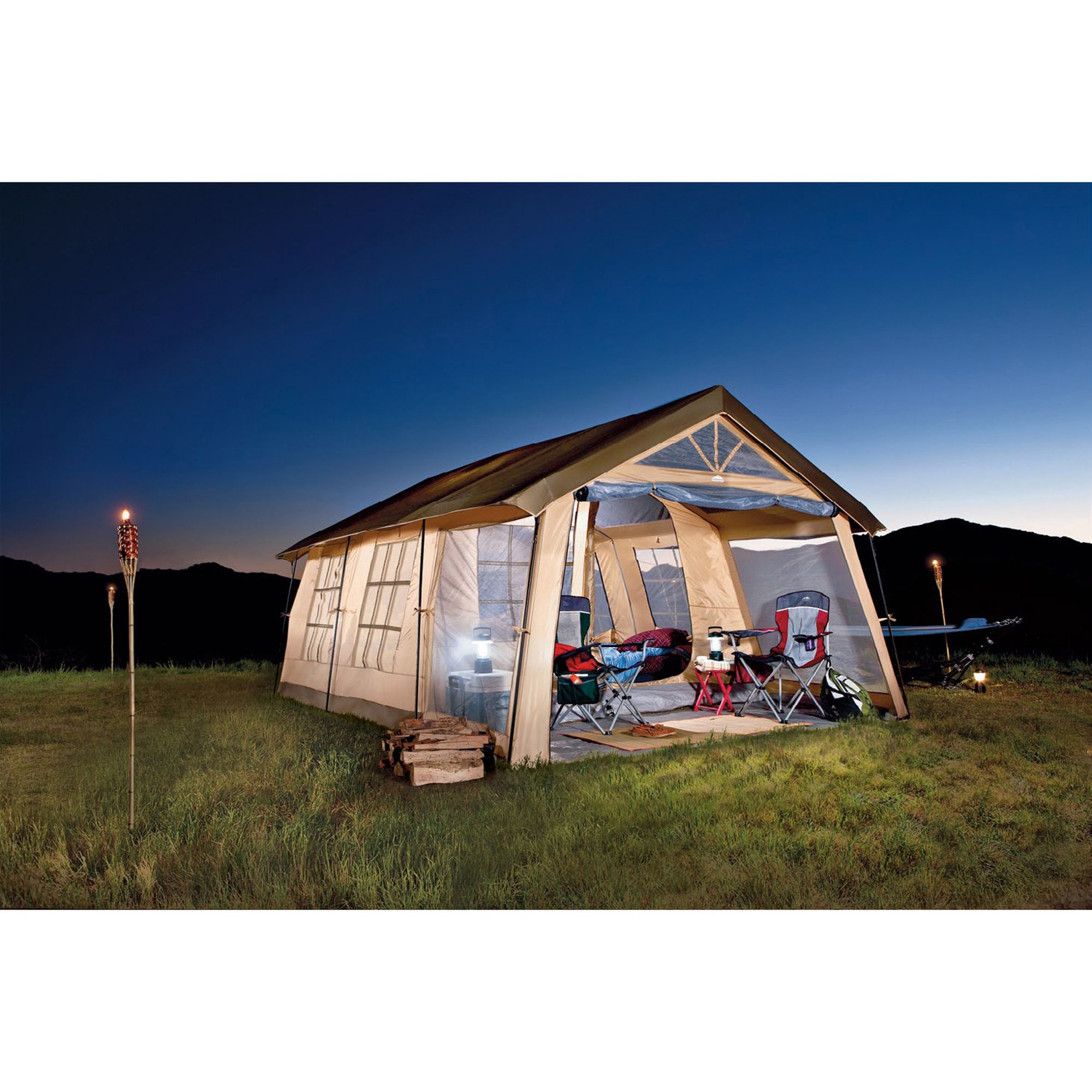 Front Porch 10-Person Tent                                                                                                       at mygofer.com