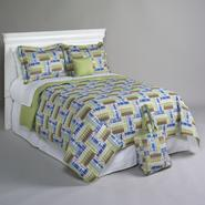 Essential Home Happy Khaki 5 Piece Quilt Set at Sears.com