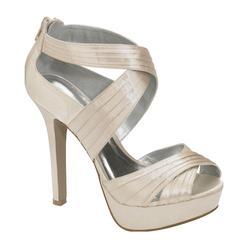 Qupid Women's Zae Open Toe Multi-Strap Sandal - Beige at Kmart.com