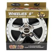 "Good Vibrations Wheelies 8"" Tractor Wheel Covers - 2 pack at Kmart.com"