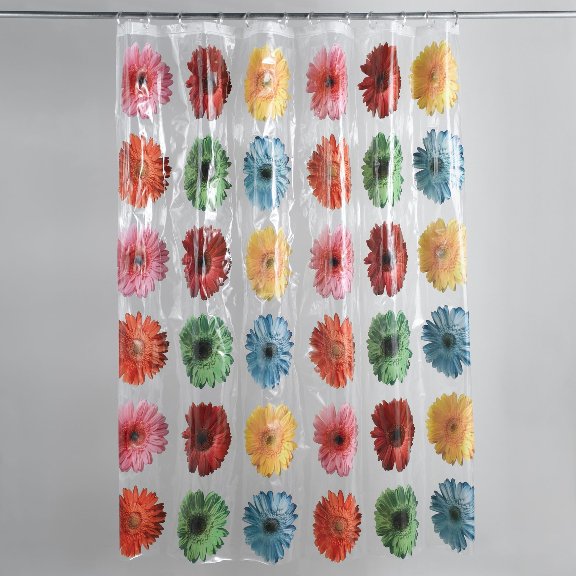 Colormate Gerber Daisy Shower Curtain