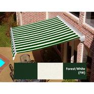 Beauty-Mark® DESTIN® LX  Motorized Retractable Awning  with Hood-Forest/White at Sears.com