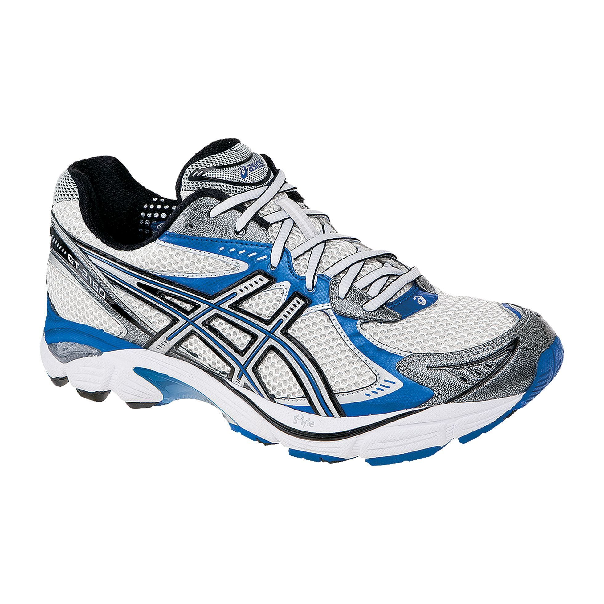 Men's Running Asics Style GT-2160 - White/Royal Blue