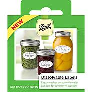 Ball Labels-Canning Dissolvable at Kmart.com