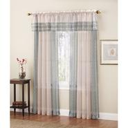 Colormate Indira Window Valance  Peacock at Sears.com